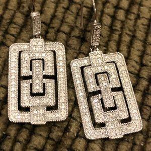 Silver type Earrings
